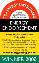 Top Energy Saver Award